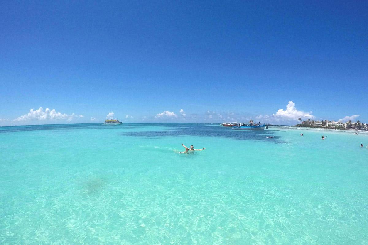 Das Meer vor Isla Mujeres
