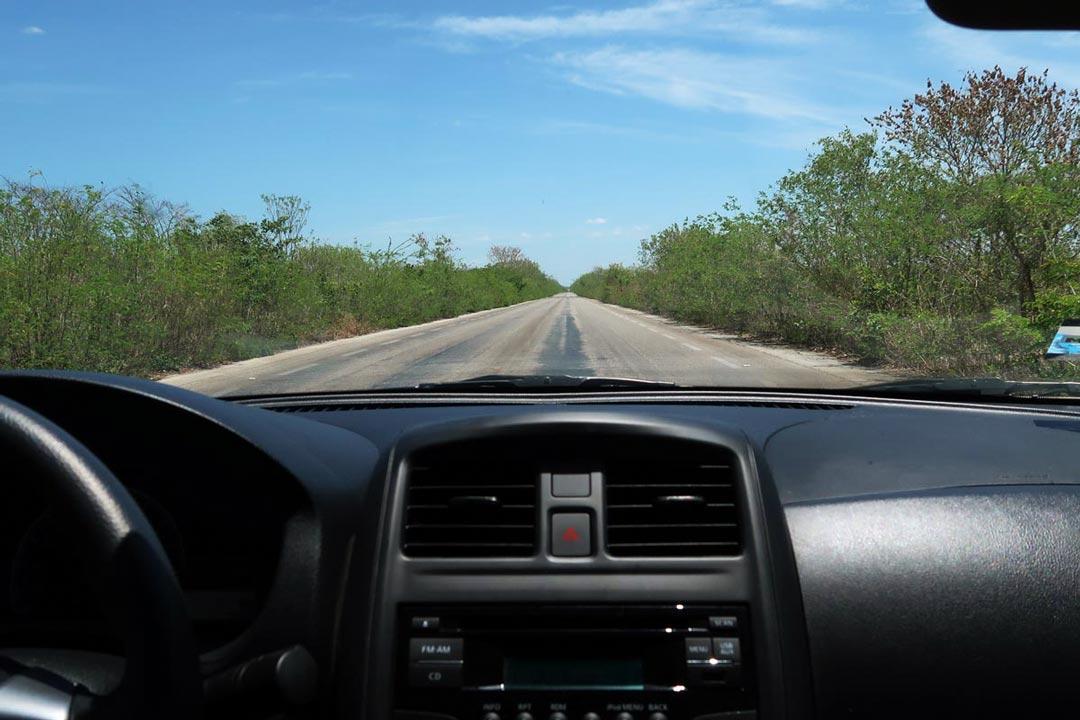 Mit dem Mietwagen auf den Straßen von Mexiko