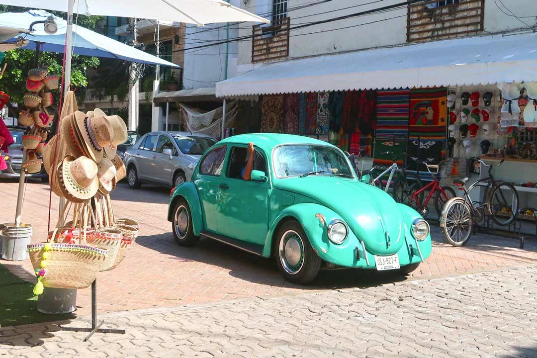 Käfer von Volkswagen wurde vor Jahren in Mexiko gebaut