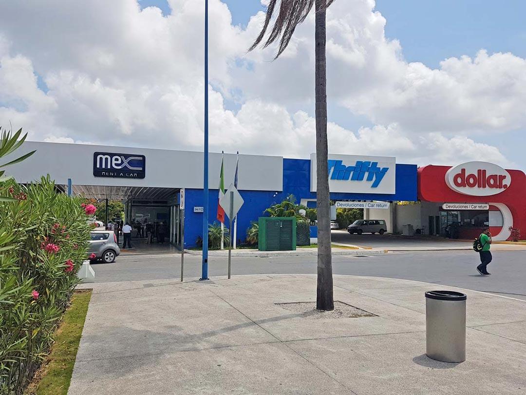 In Mexiko gibt es viele Anbieter von Autovermietungen