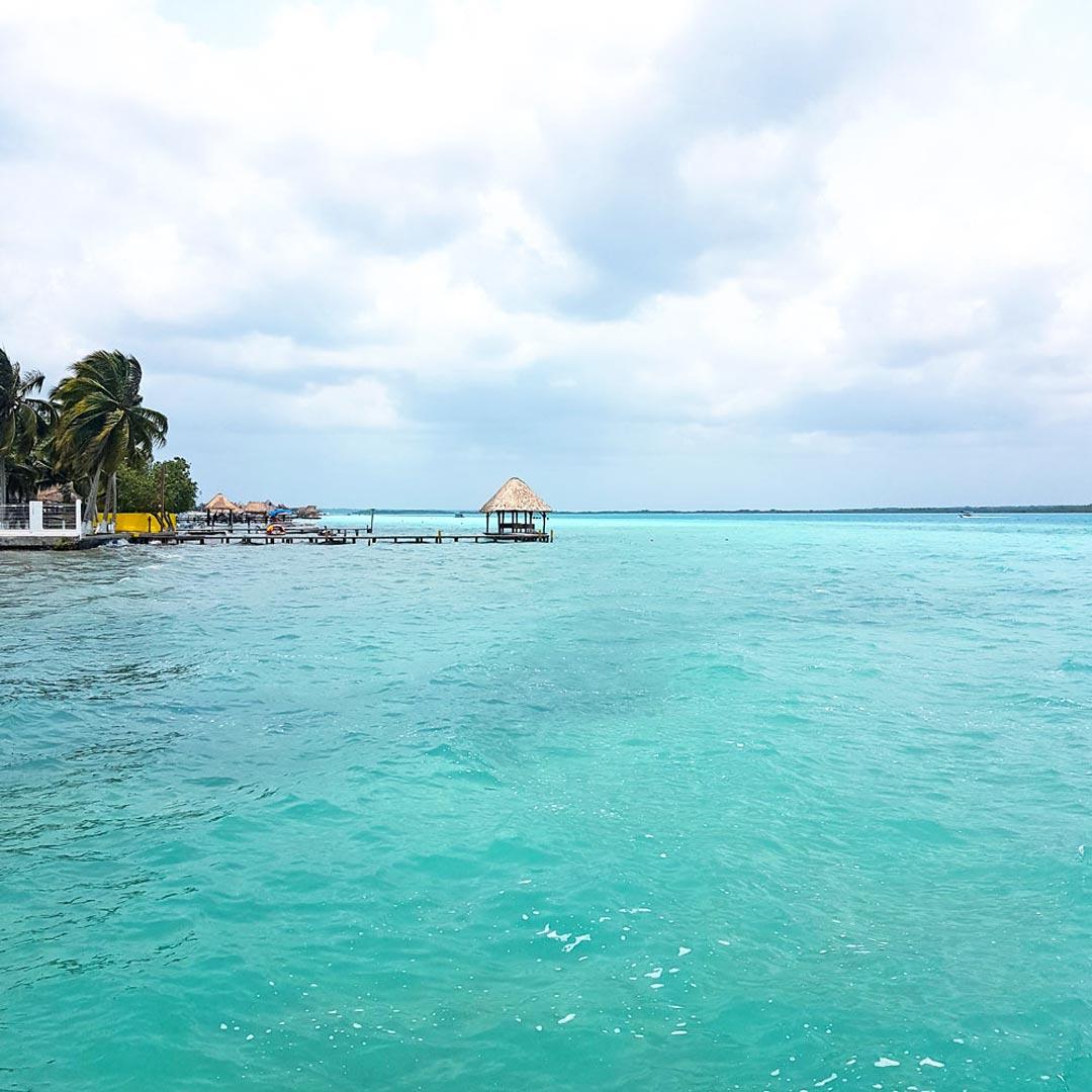 Bacalar mit seiner Lagune ist ein muss bei jeder Yucatan Rundreise