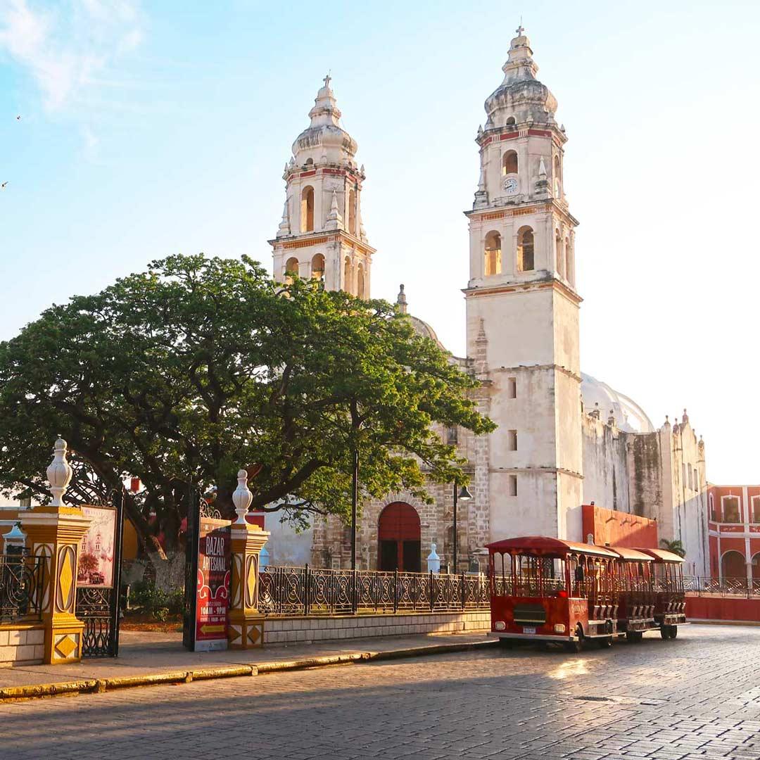 Entspanntes Flair und schöner Charme in Campeche, Mexiko