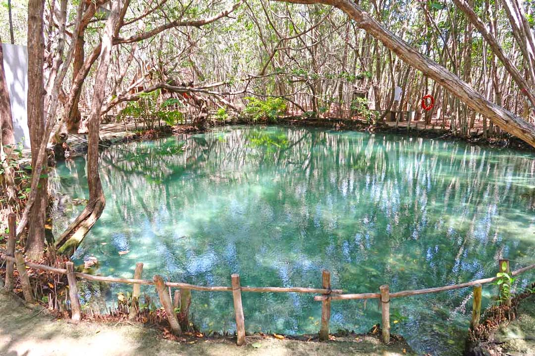 Cenote in Mexiko
