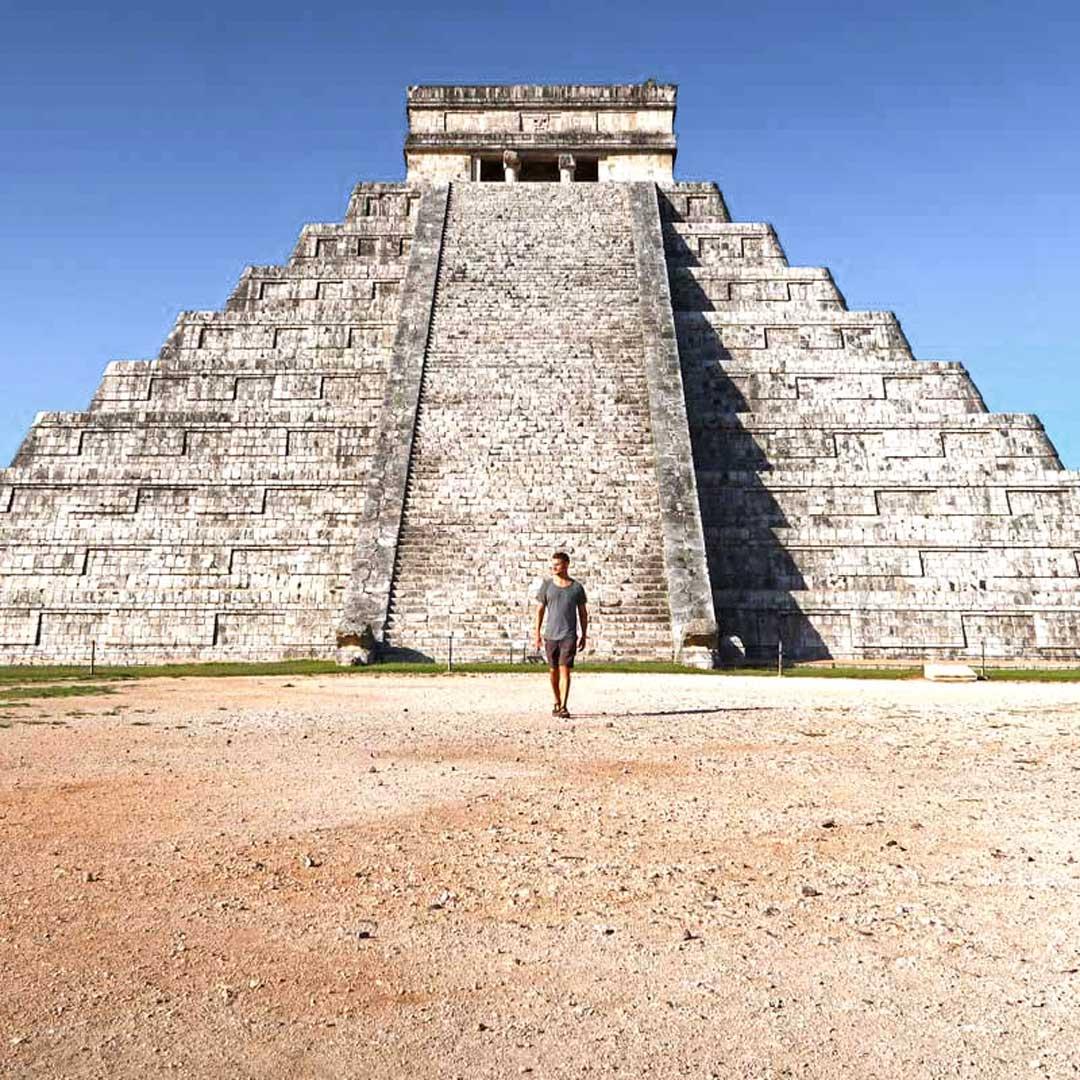 Chichén Itzá, die meistbesuchteste Maya-Stätte in Yucatan