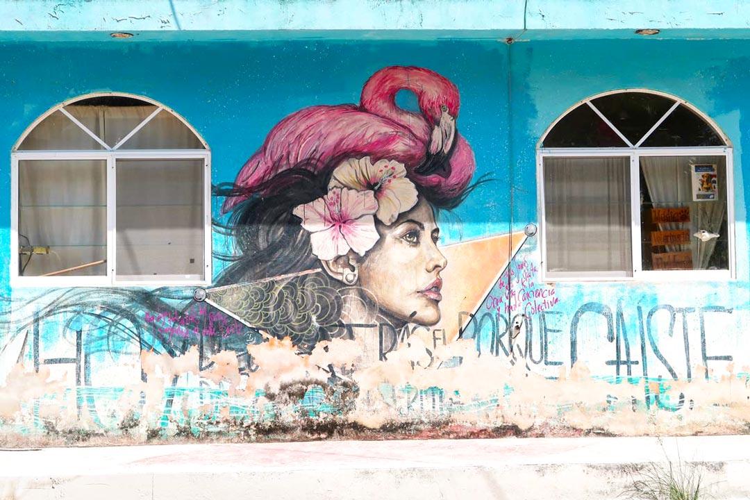 Ein Highlight von Holbox ist definitiv die detailreiche Streetart
