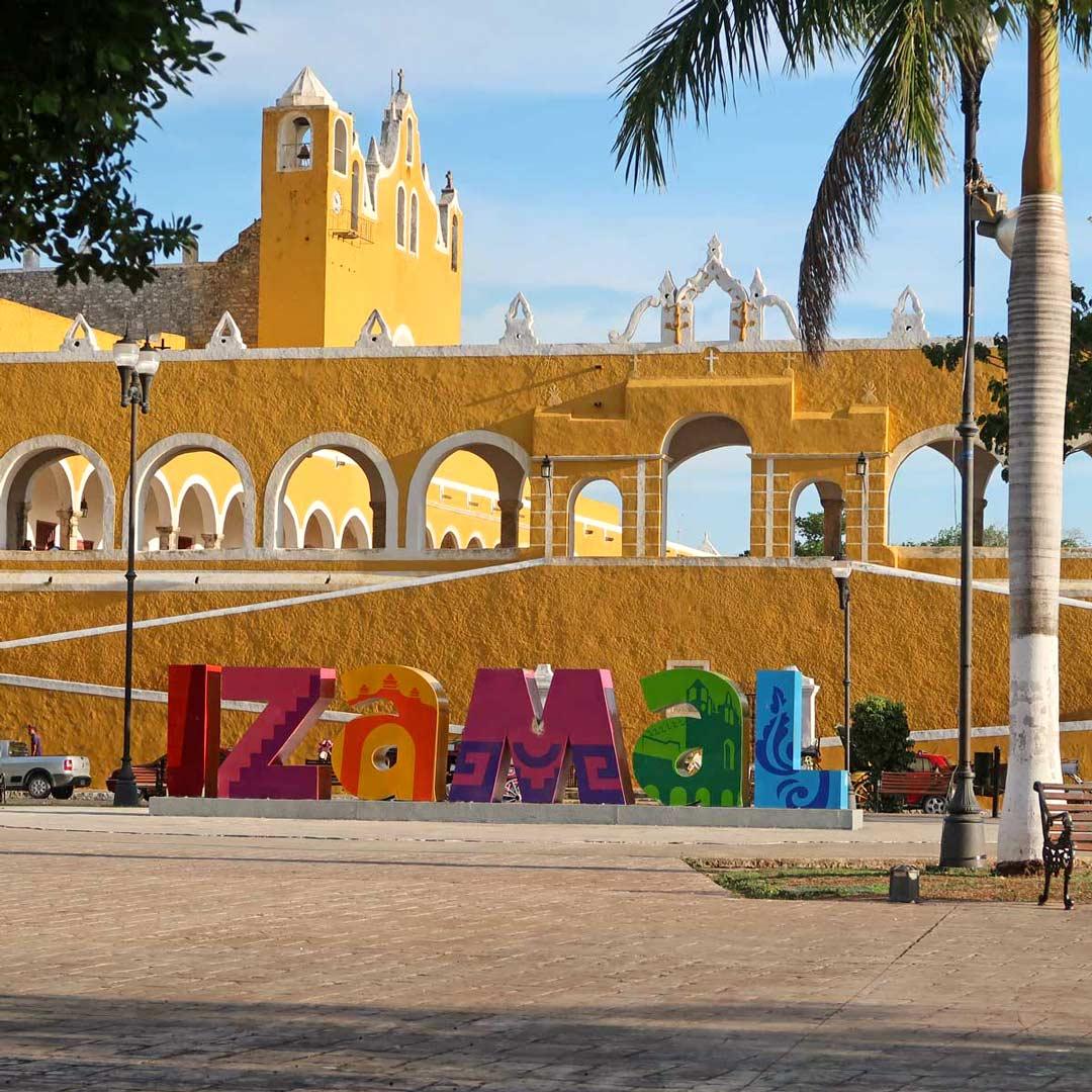 Izamal, die gelbe Stadt in Mexiko