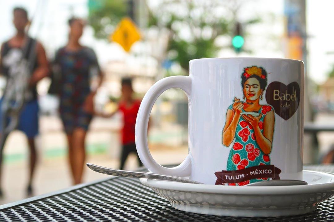 In Tulum gibt es eine Vielzahl an Cafés