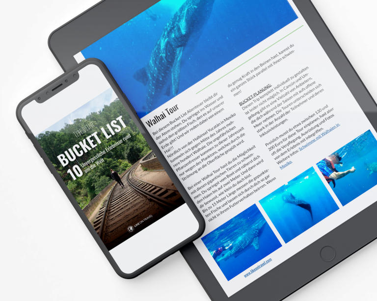 Bucket List Ebook Mockup
