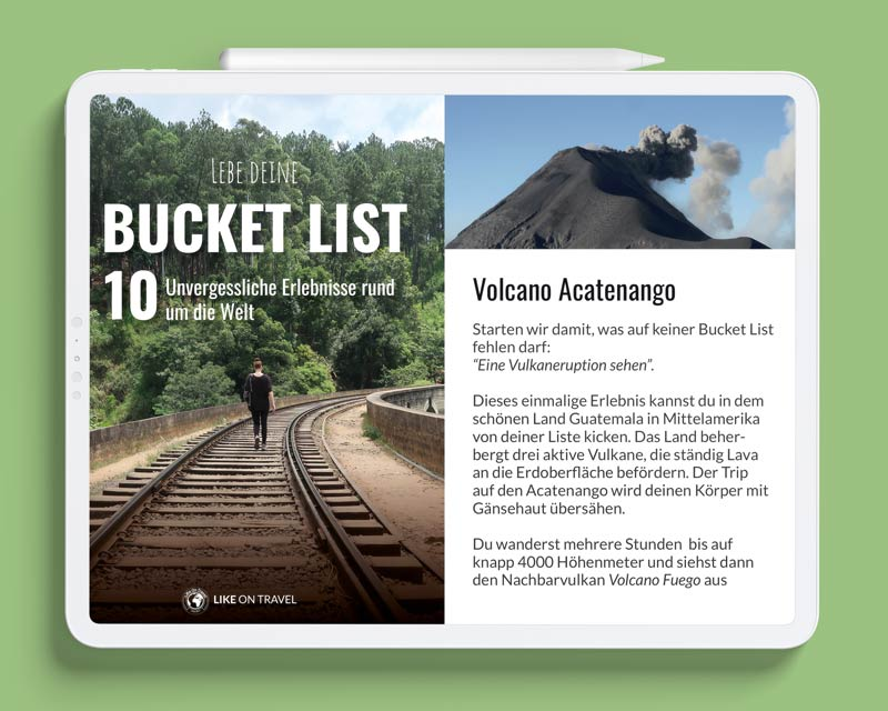 Ebook Bucket List likeontravel