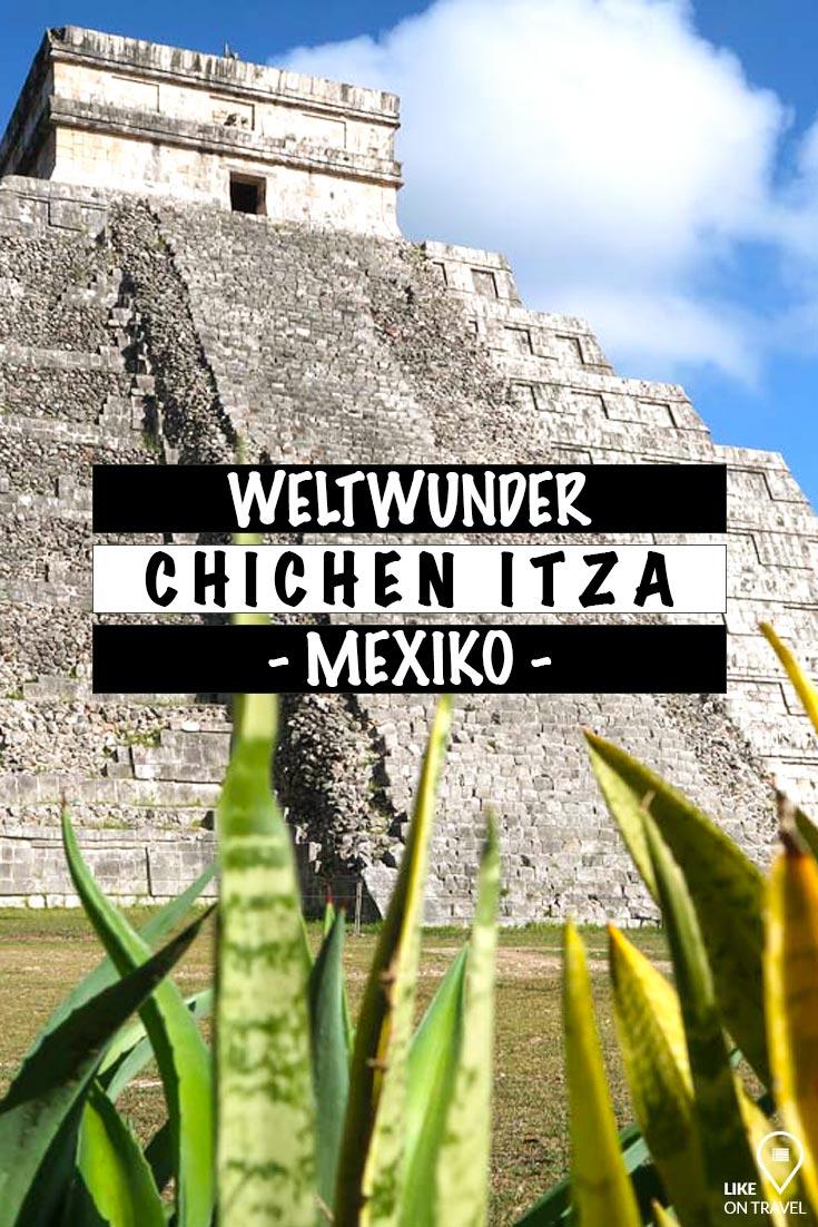 Chichén Itzá, das Weltwunder ohne Massentourismus! #reisetipps #tipps #reiseblog #mexiko #yucatan #chichenitza #mayaruinen #mayastätte #weltwunder #tippsfürbesuch #likeontravel