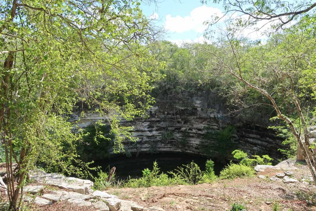 Die Cenote in Chichén Itzá