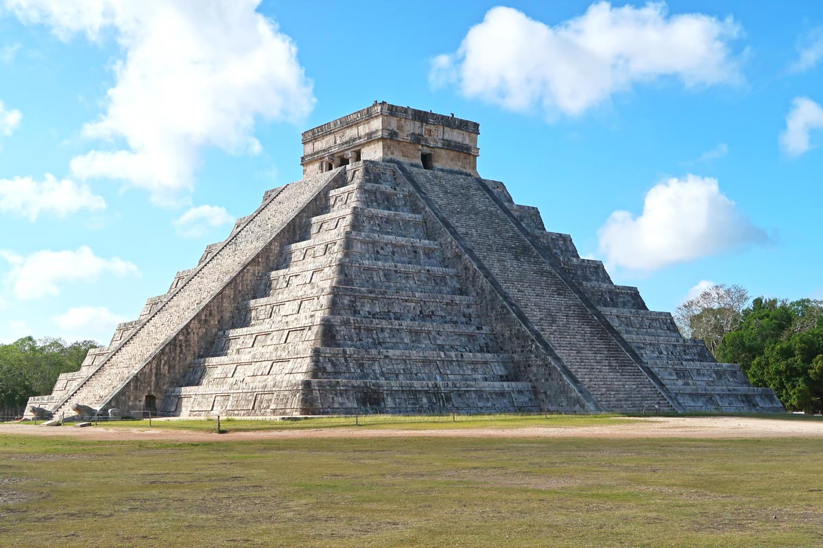 El Castillo in Chichén Itzá, Mexiko