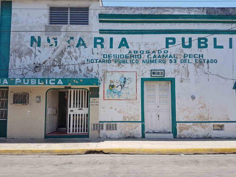 In den Straßen von Mérida Mexiko