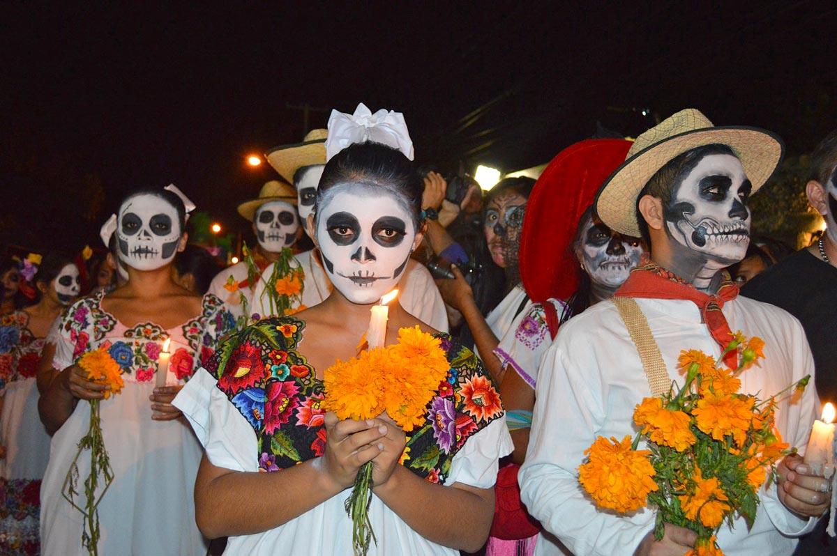 Día de los Muertos in Mérida Mexiko