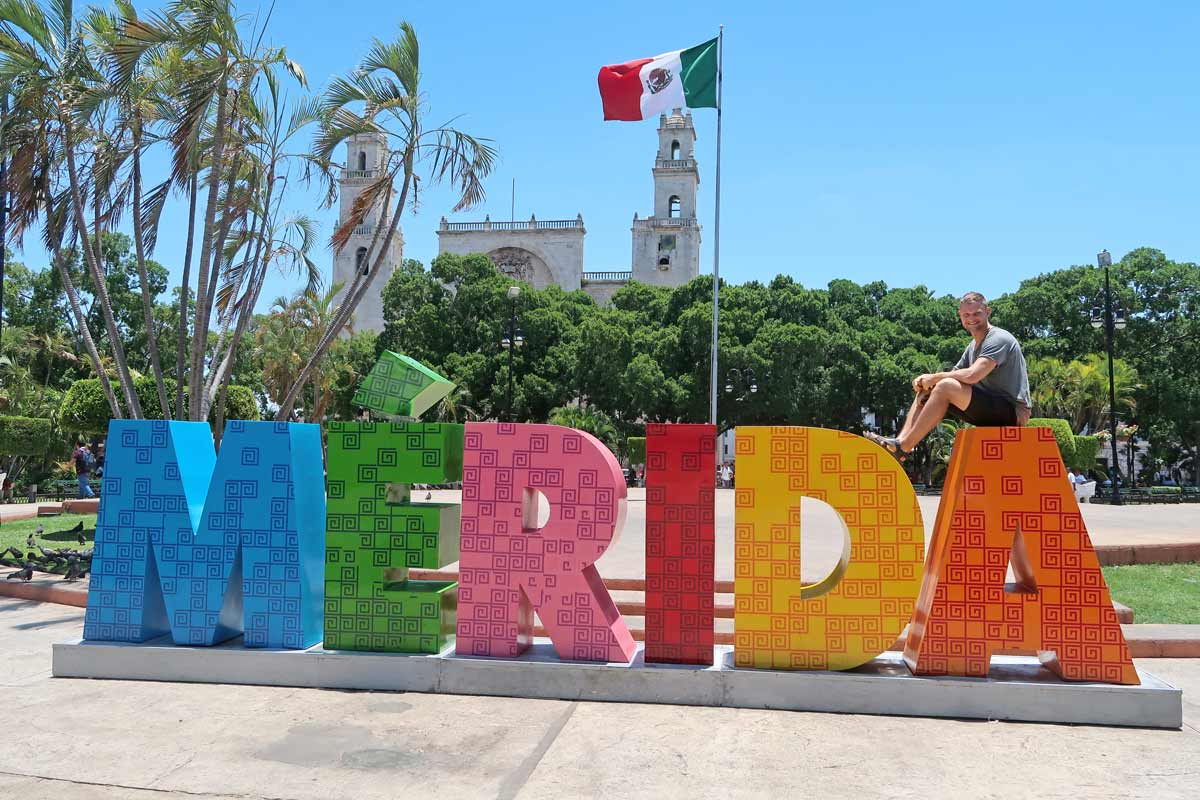 Plaza Grande in Mérida Mexiko