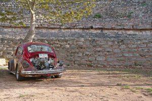 Alter VW Käfer in Mexiko Yucatán