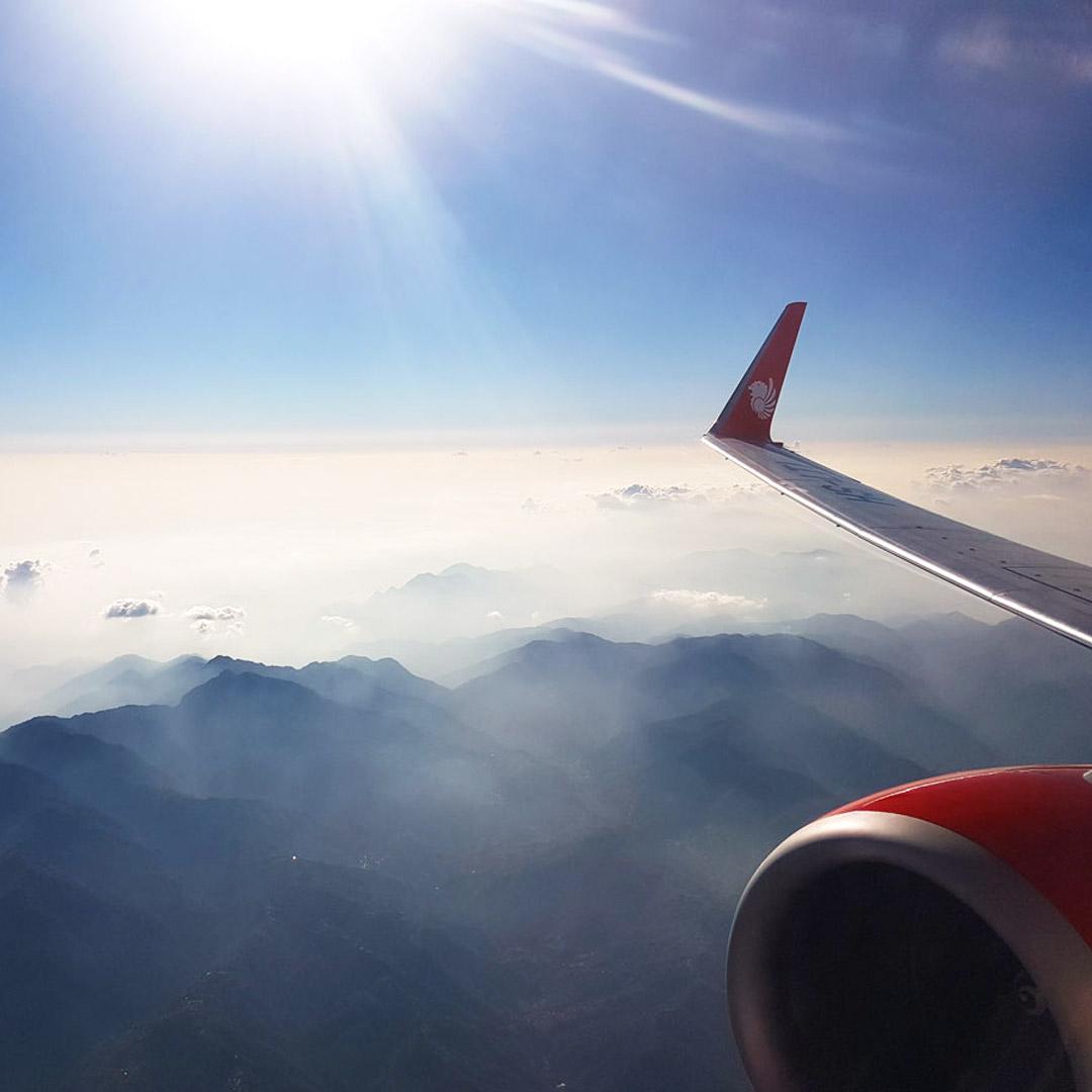 Thailand Rundreise - Billigairlines ermöglichen günstige Inlandsflüge