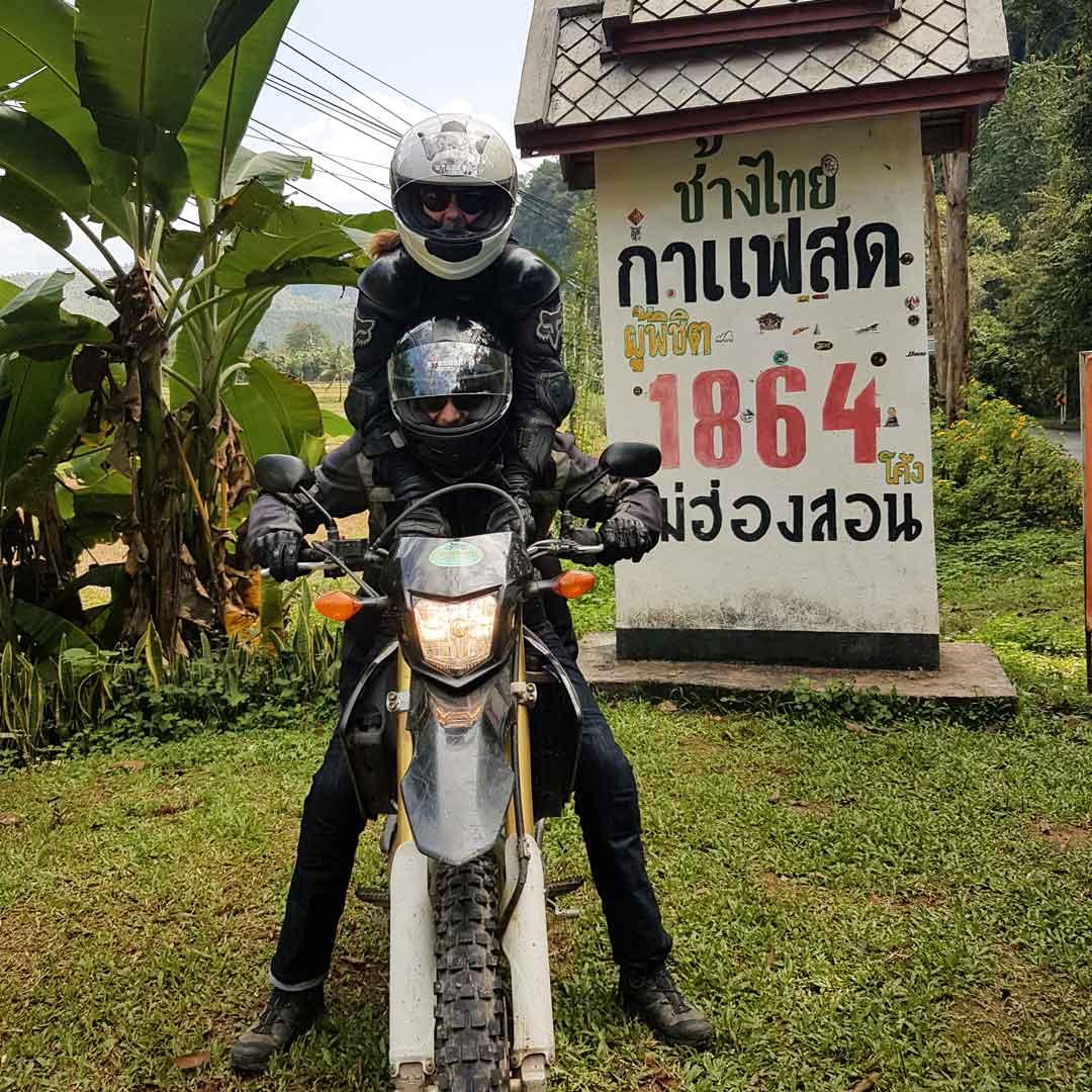 Baue eine Motorradtour auf deiner Thailand Rundreise ein