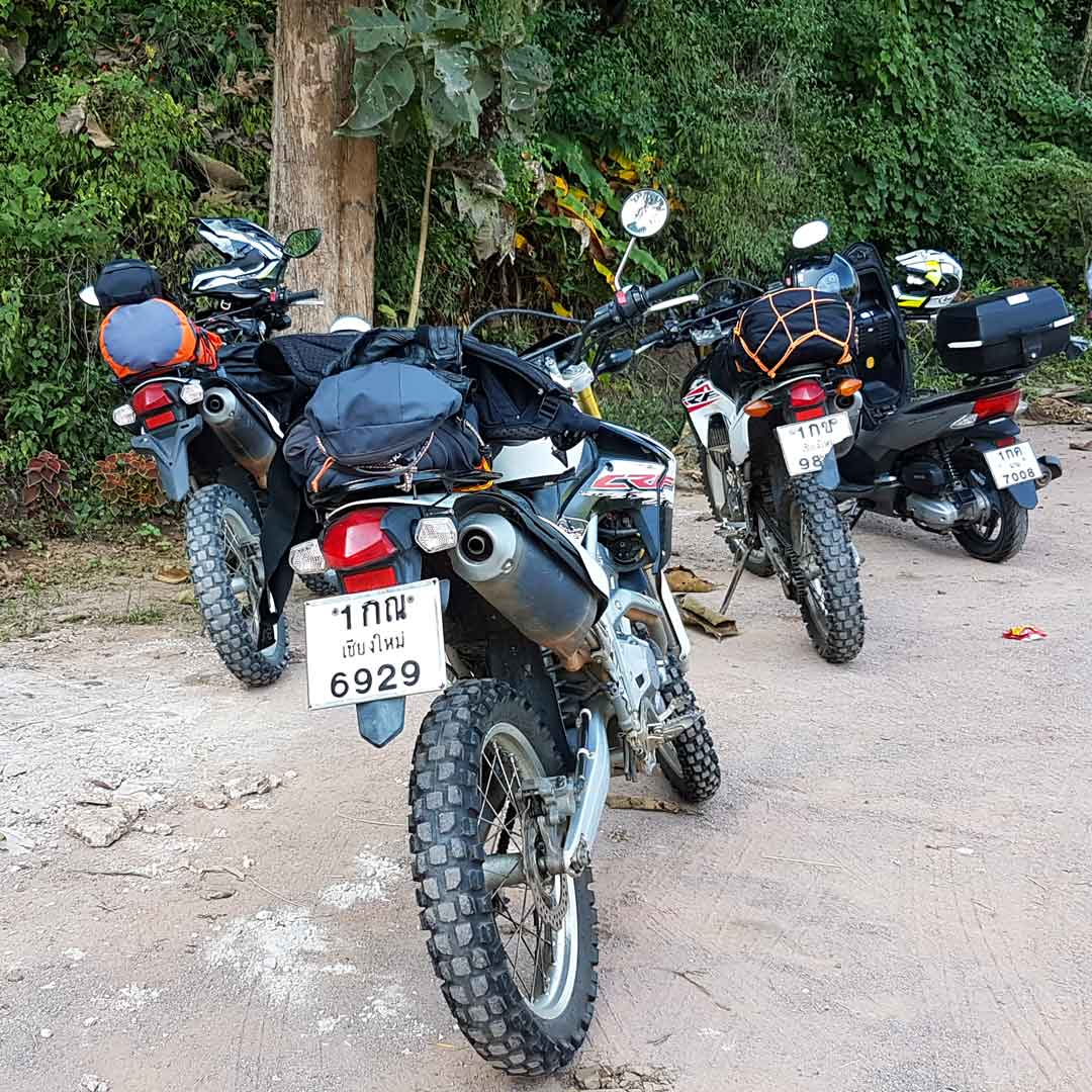 In Thailand kannst du dir die unterschiedlichsten Motorräder ausleihen