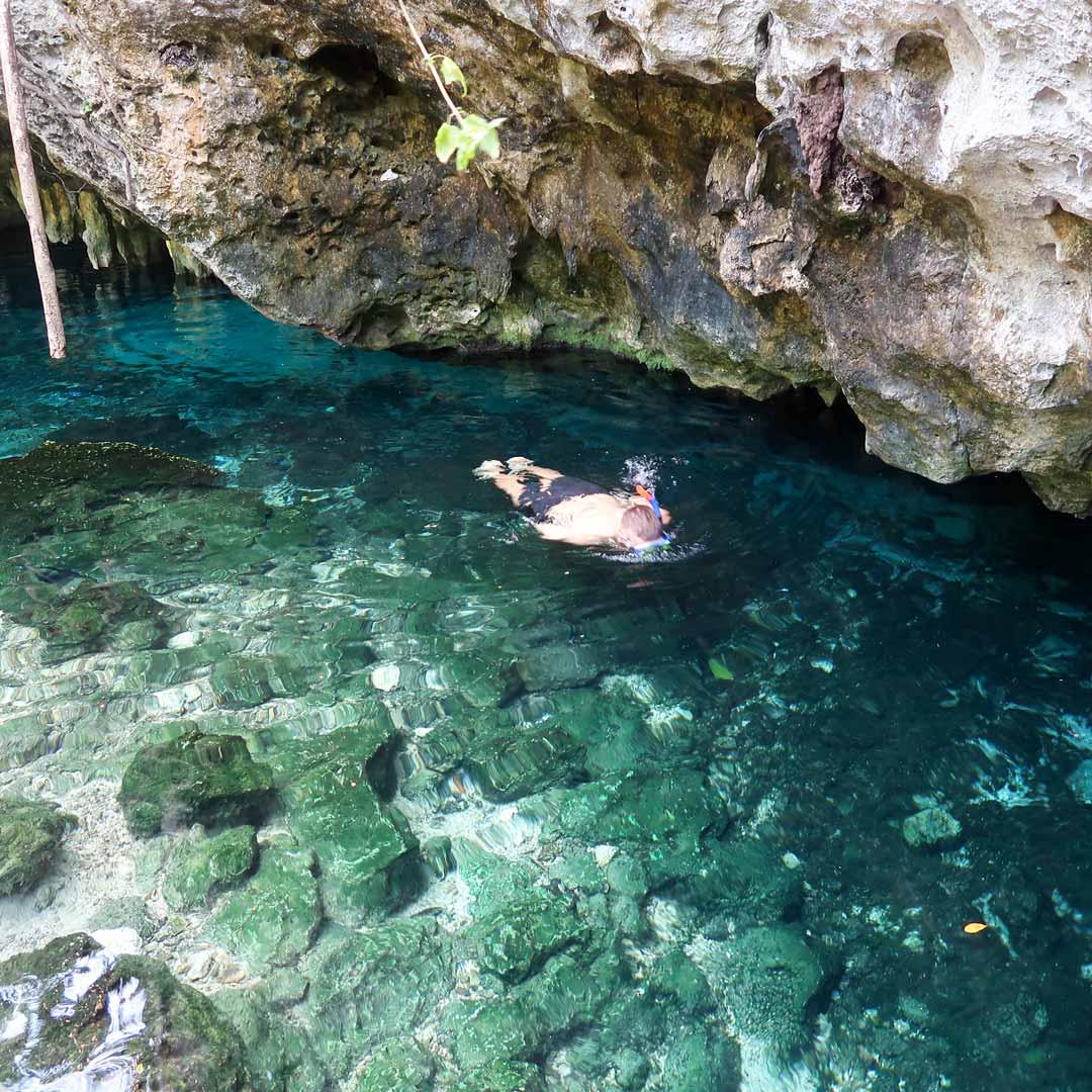 Tulum Sehenswürdigkeiten: Schnorcheln in der Gran Cenote