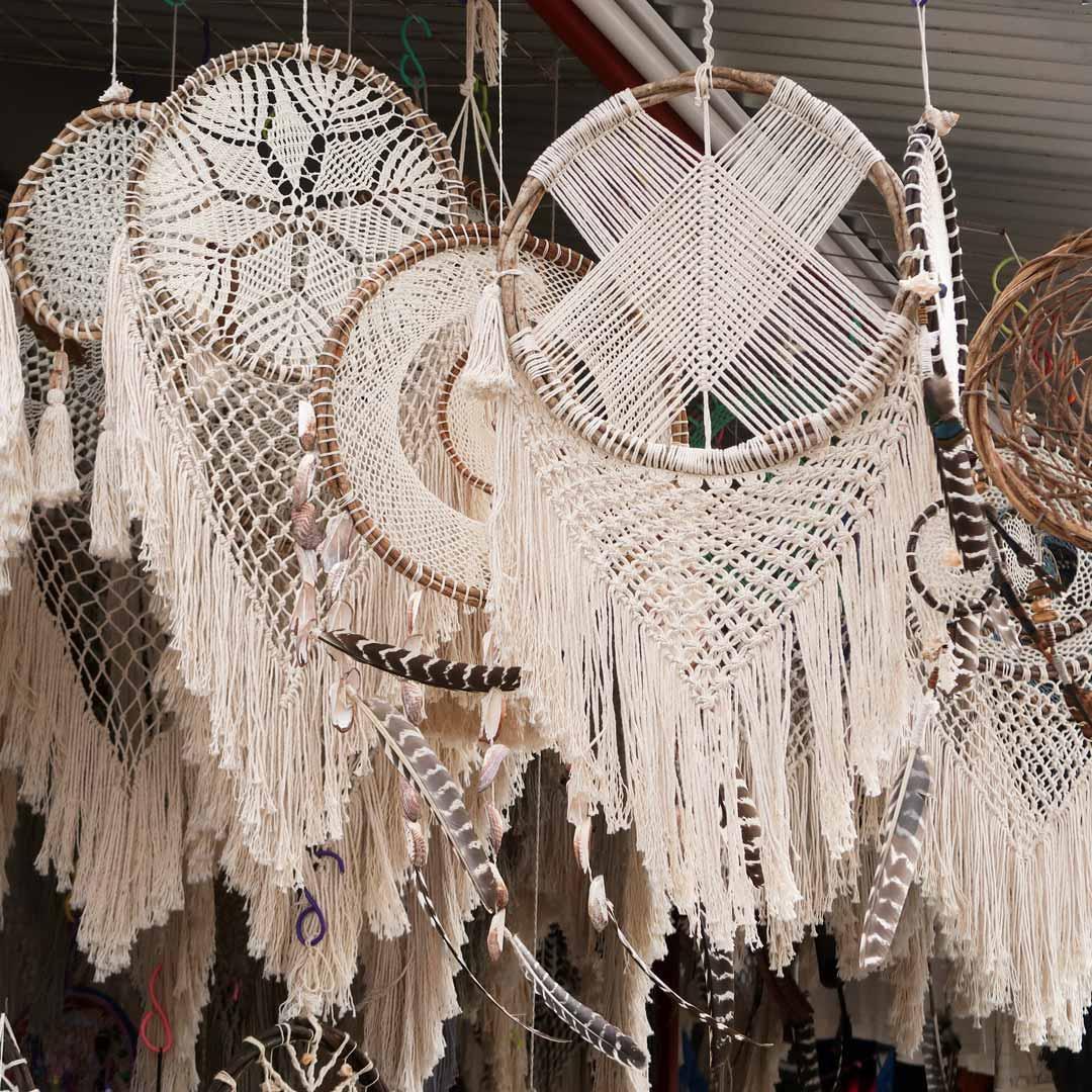 In Tulum gibt es viele Souvenirläden im Hippie und Bohostil