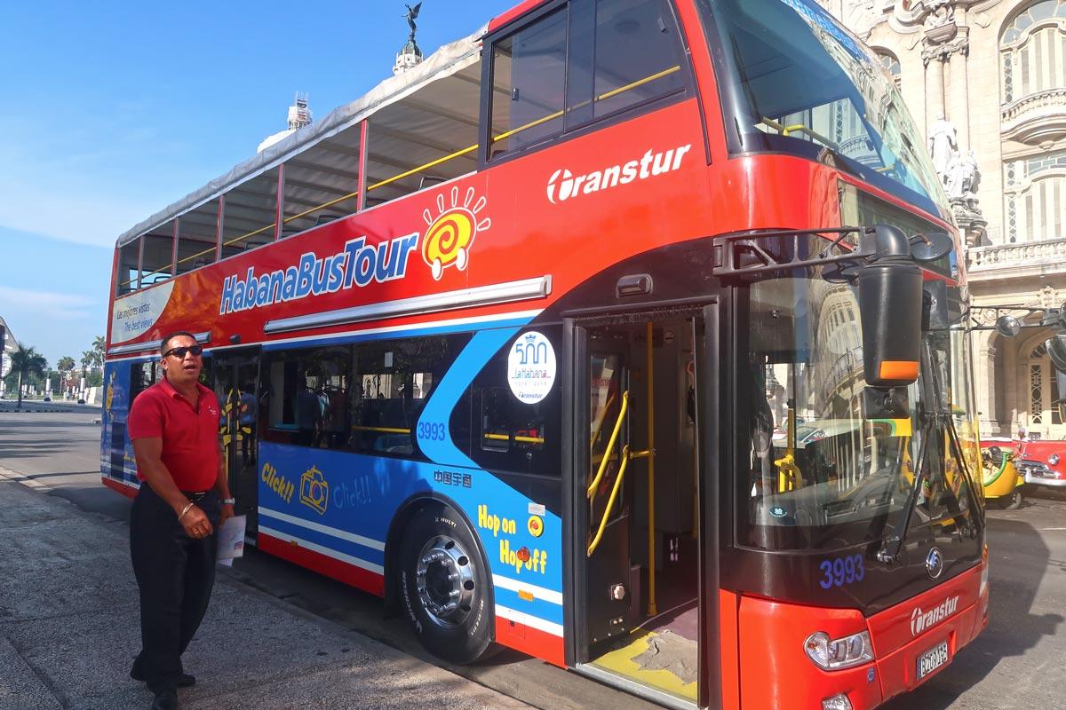 Habana Bus Tour - der Hop-on-Hop-Off Bus in Havanna
