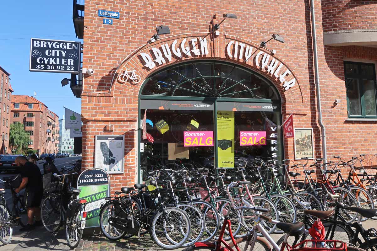Fahrradverleih in Kopenhagen - Bryggen City Cykler