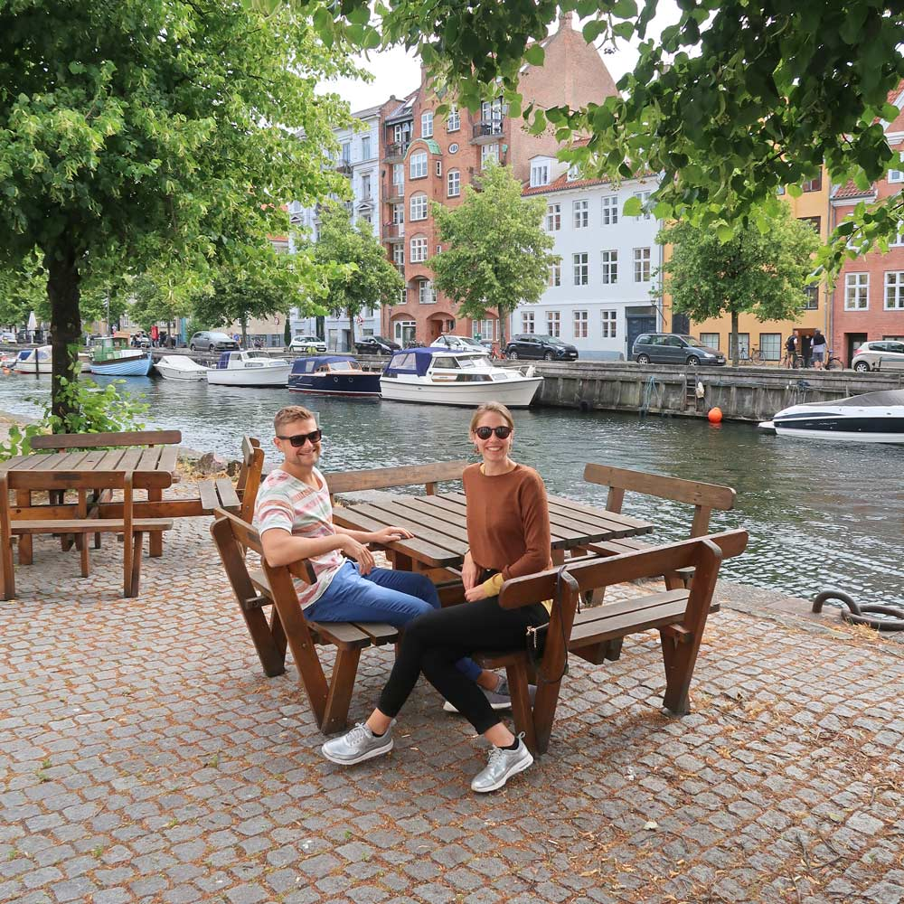 Likeontravel in Brygge von Kopenhagen