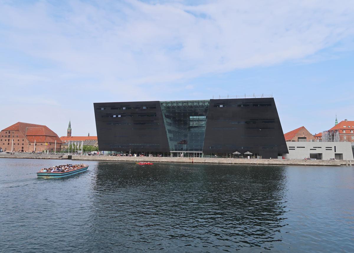 Dänische Königliche Bibliothek von Brygge aus