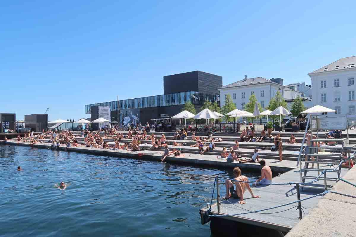 Ofelia Plads in Kopenhagen