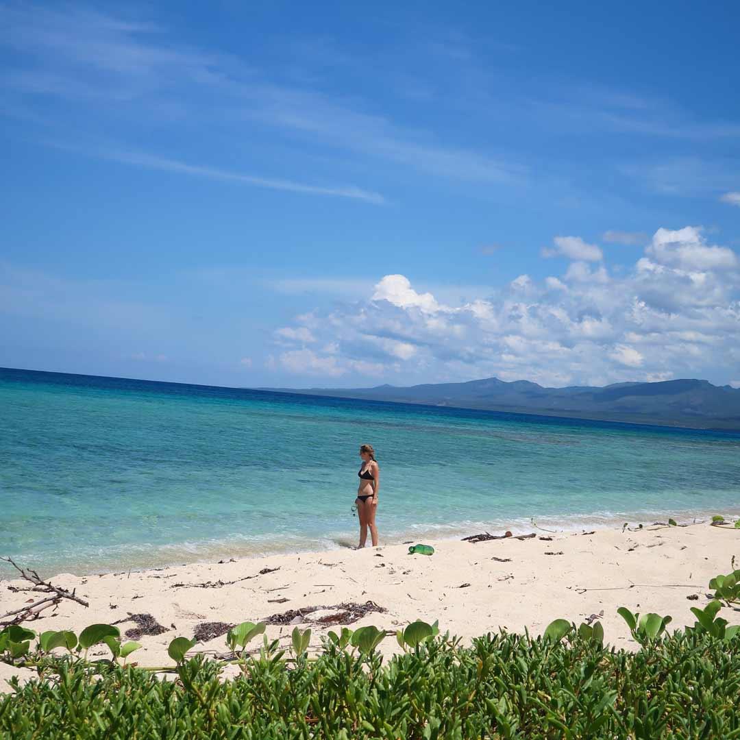 Playa Ancón - Plansche im Karibischen Meer