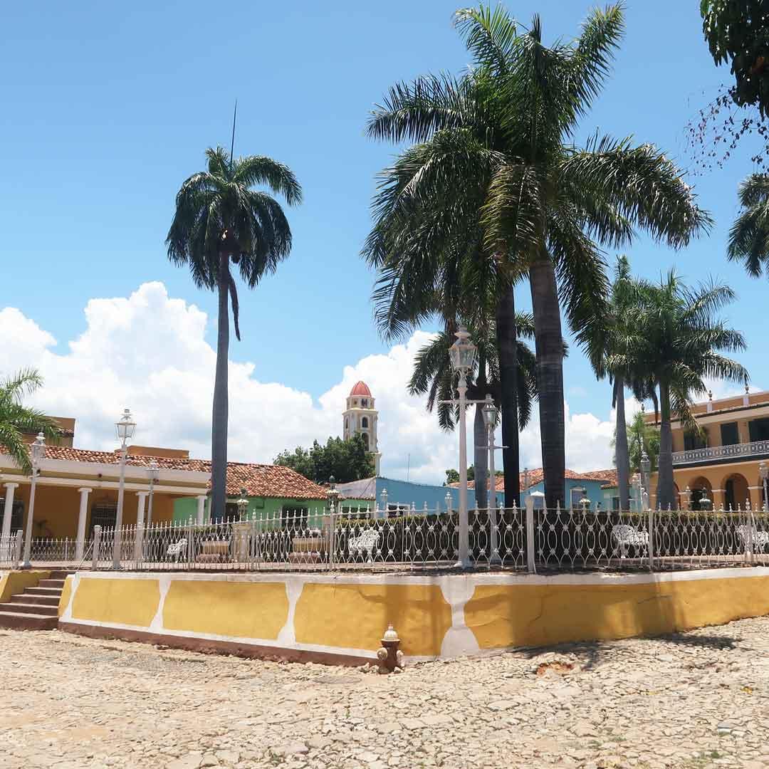 Der Plaza Major ist der Hauptplatz in Trinidad