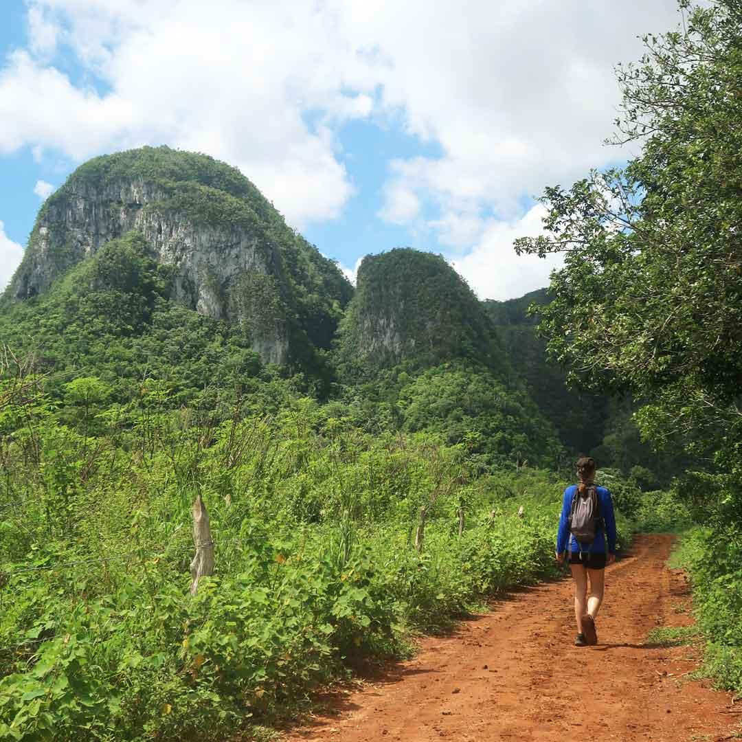 Viñales eignet sich hervorragend zum Wandern