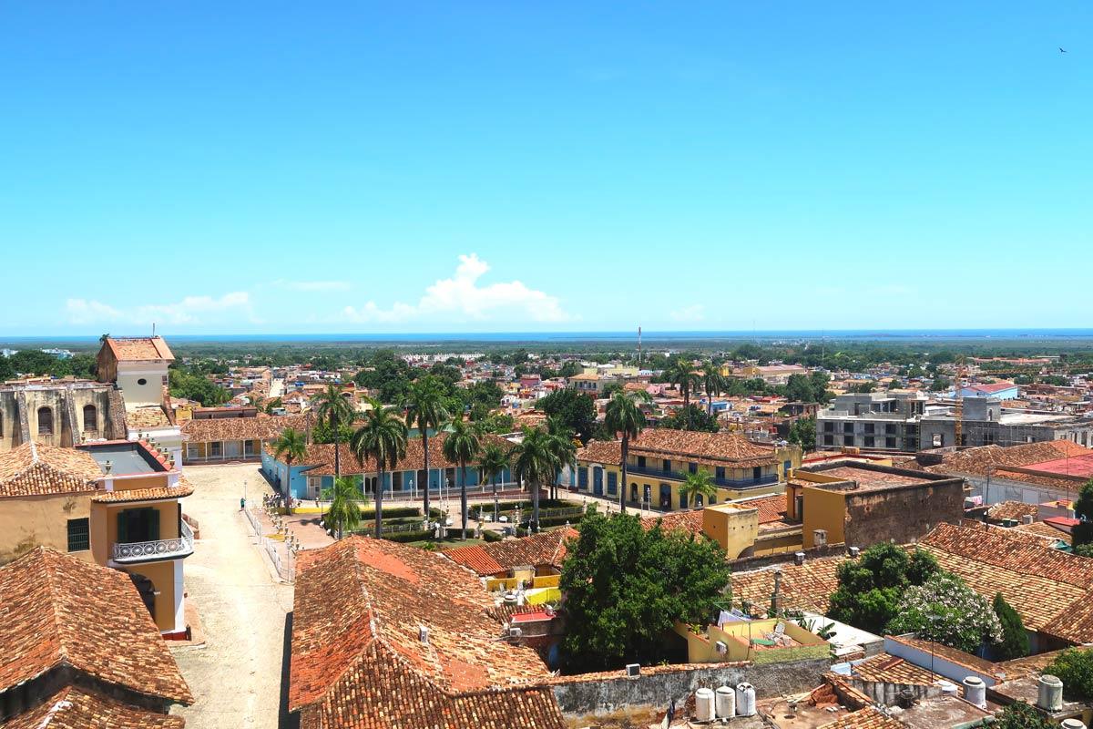 Trinidad Kuba aus der Vogelperspektive