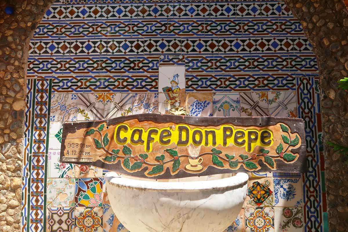 Das Café Don Pepe in Trinidad Kuba