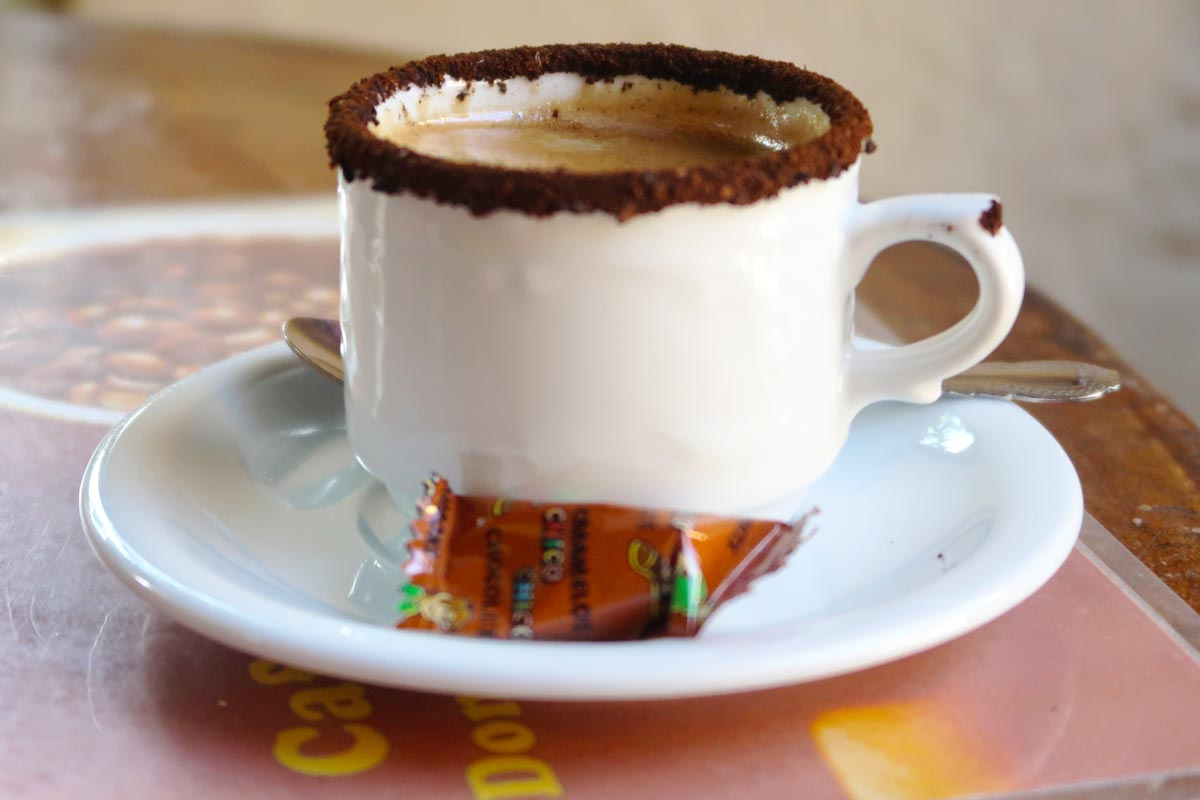 Der beste Kaffee in Trinidad Kuba
