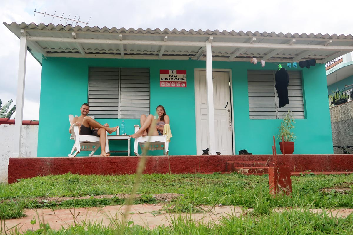 Unser Casa Particular in Vinales