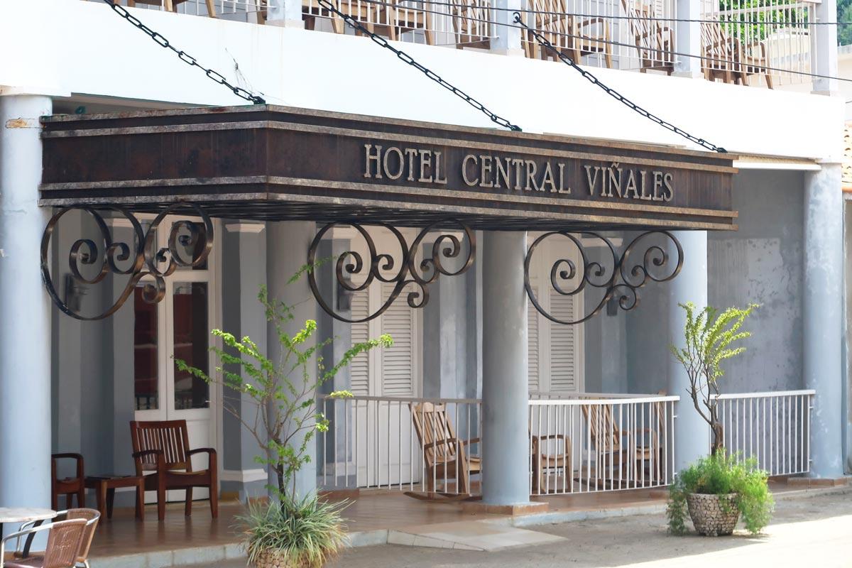 Das Hotel Central Viñales