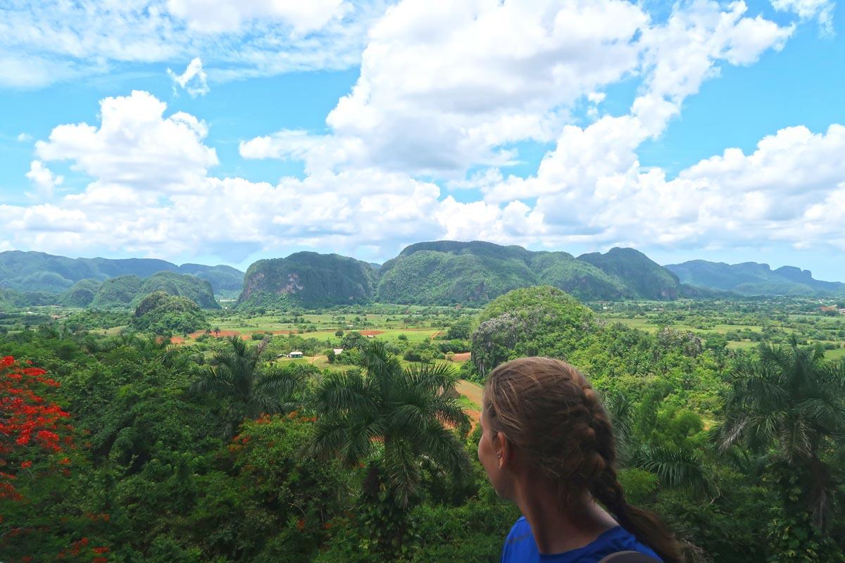Die geniale Aussicht vom Hotel Horizontes los Jazminés