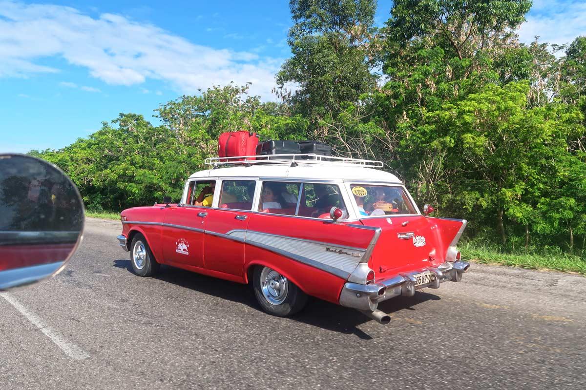 Mit dem Taxi Colectivo von Havanna nach Vinales, Kuba