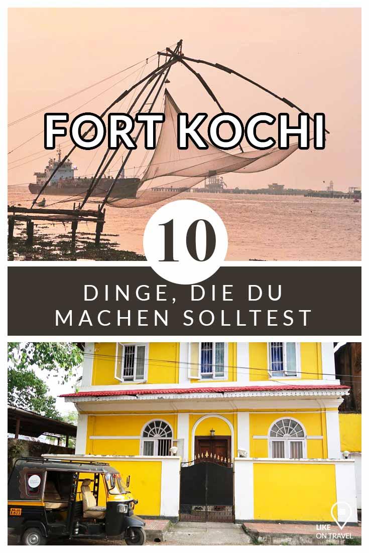 Fort Kochi - 10 Dinge, die du machen musst! #indien #südindien #asien #fortkochi #kerala #reisetipps #reiseblog #blog #likeontravel