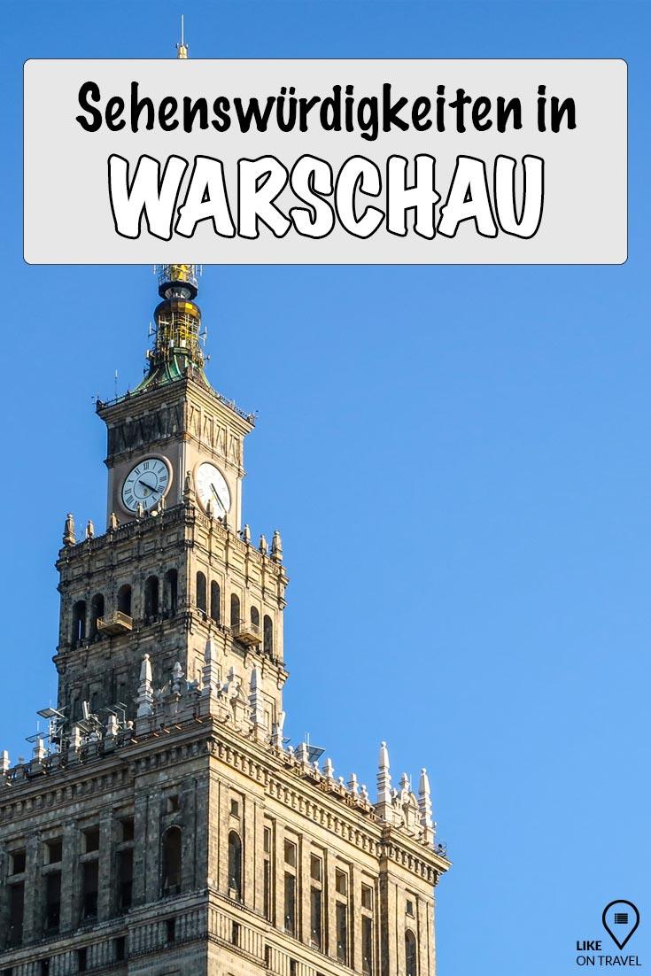Warschau Sehenswürdigkeiten - Die besten Tipps für deine Städtereise! #polen #warschau #cityguide #blog #reiseblog #likeontravel #warschautipps #städtereise #kurztrip #europa