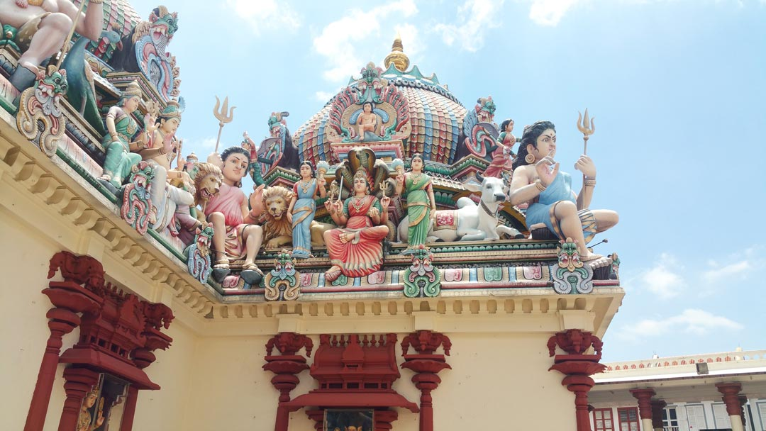 Hindu-Tempel in Little India in Singapur