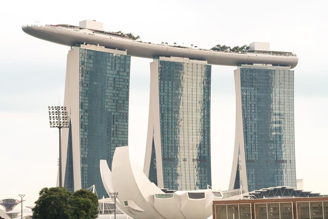 Marina Bay Sands, das Wahrzeichen von Singapur