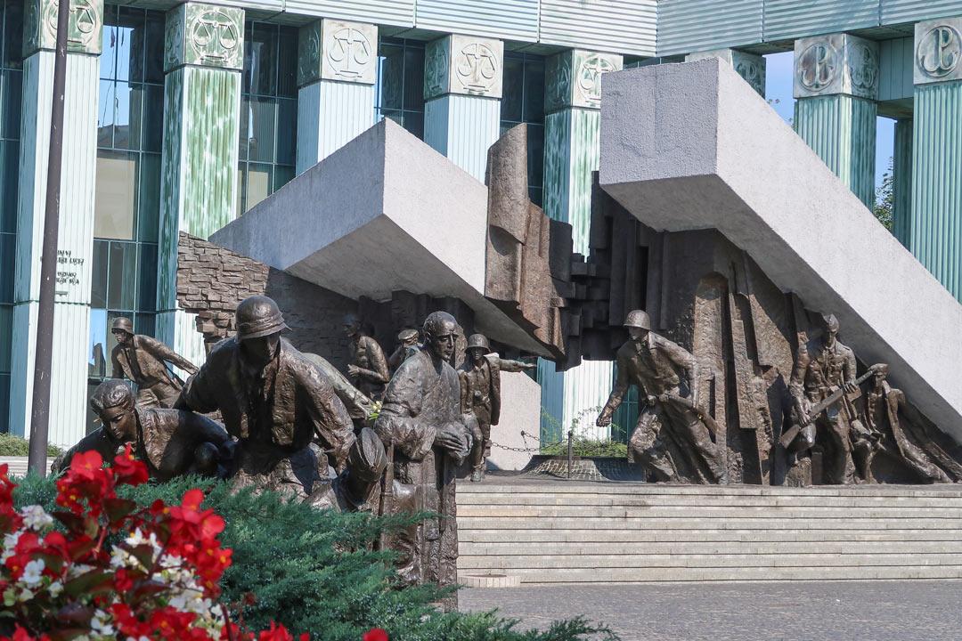Warschau Sehendwürdigkeiten: Denkmal des Warschauer Aufstandes