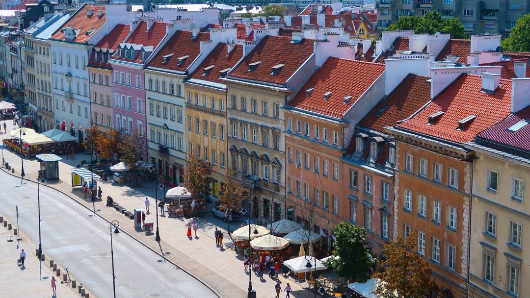 Warschau Aussicht Sehenswürdigkeiten