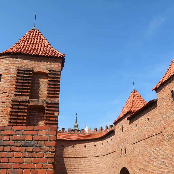 Barbakan Festungsmauer Warschau