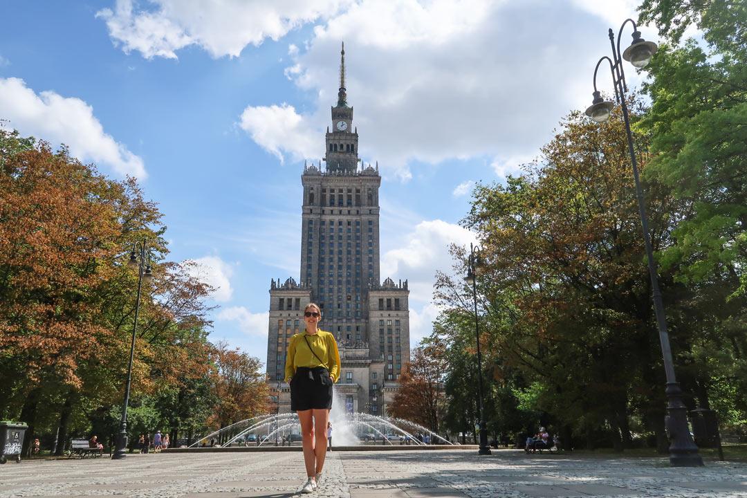 Kulturpalast Warschau Sehenswertes