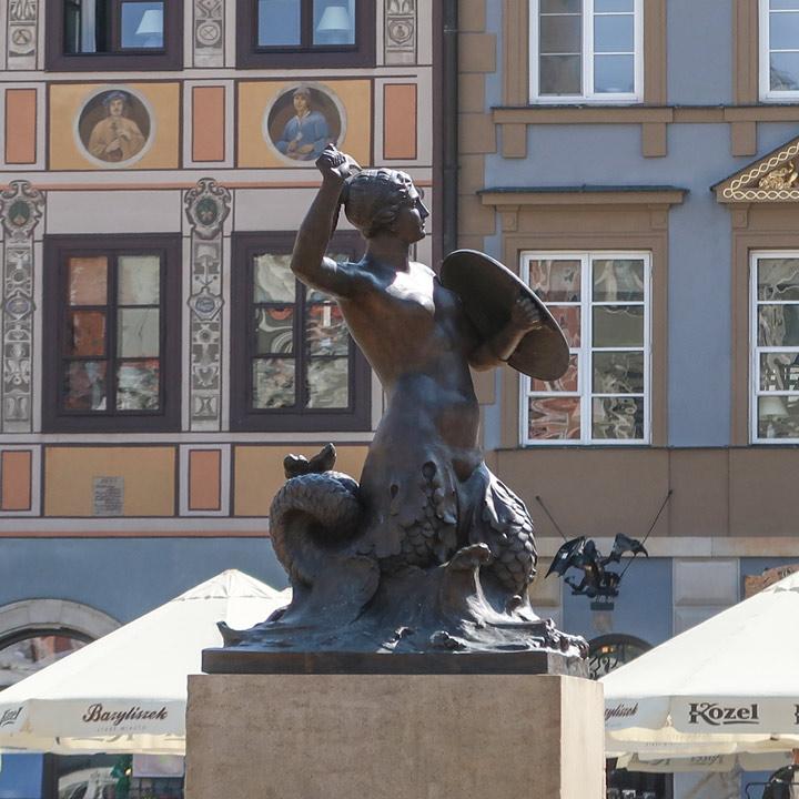 Marktplatz Warschau Sehenswürdikeiten Wahrzeichen