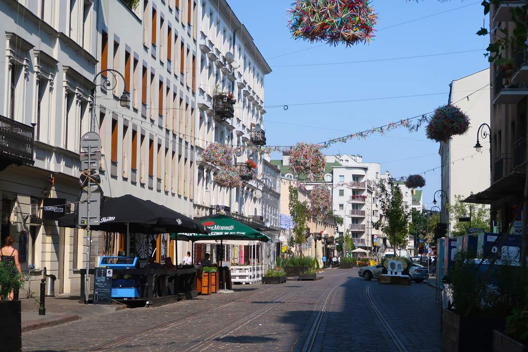 Stadtteil Praga von Warschau